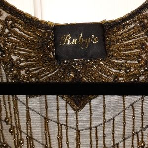 Ruby's Accessories - Ruby's Beaded and Sequined Wrap